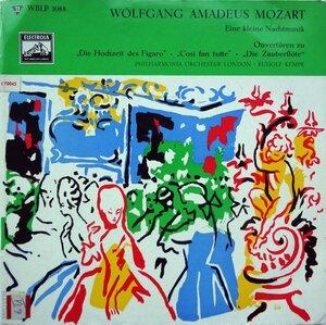W.A. Mozart. Eine kleine Nachtmusik & Ouvertüren (1953) [Electrola, WBLP 1088]