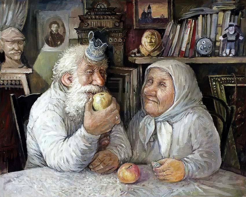 Сек дедушка и сдари бабушка 6 фотография