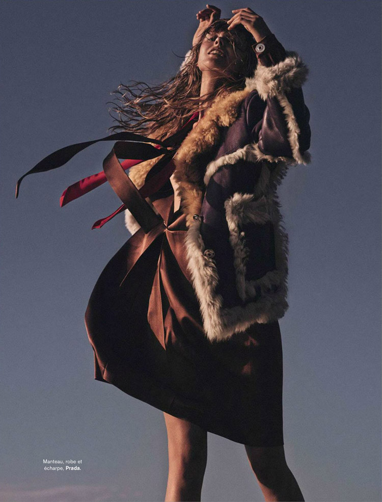 Фрида Густавссон (Frida Gustavsson) в журнале Glamour Paris