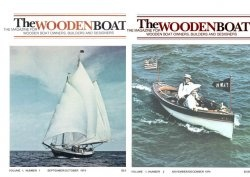 Журнал WoodenBoat Magazine Full Year Collection No 1-6 1974