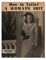 Журнал How to tailor a woman's suit pdf 11Мб