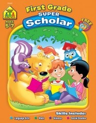 Книга First Grade Scholar Super-Deluxe Edition