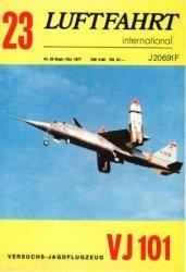 Журнал Luftfahrt International Nr.23 Sept.-Okt. 1977