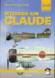 Книга Yellow Series No.6107: Mitsubishi A5M Claude