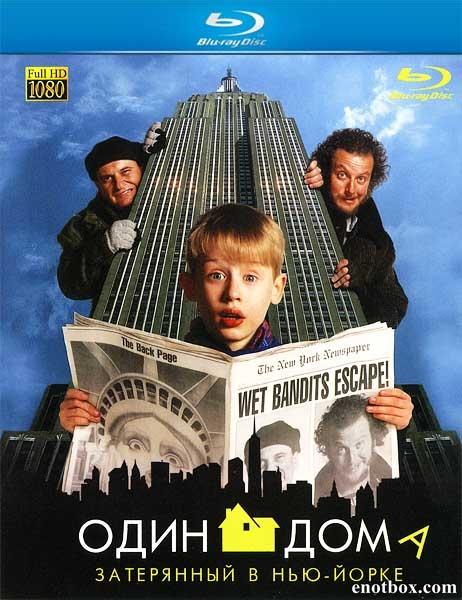 Один дома 2: Затерянный в Нью-Йорке / Home Alone 2: Lost in New York (1992/Blu-Ray/BDRip/HDRip)