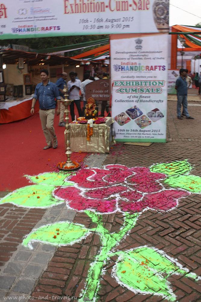 Фото 3. Путешествуя по Индии, вы встретите огромное количество красочных объектов.