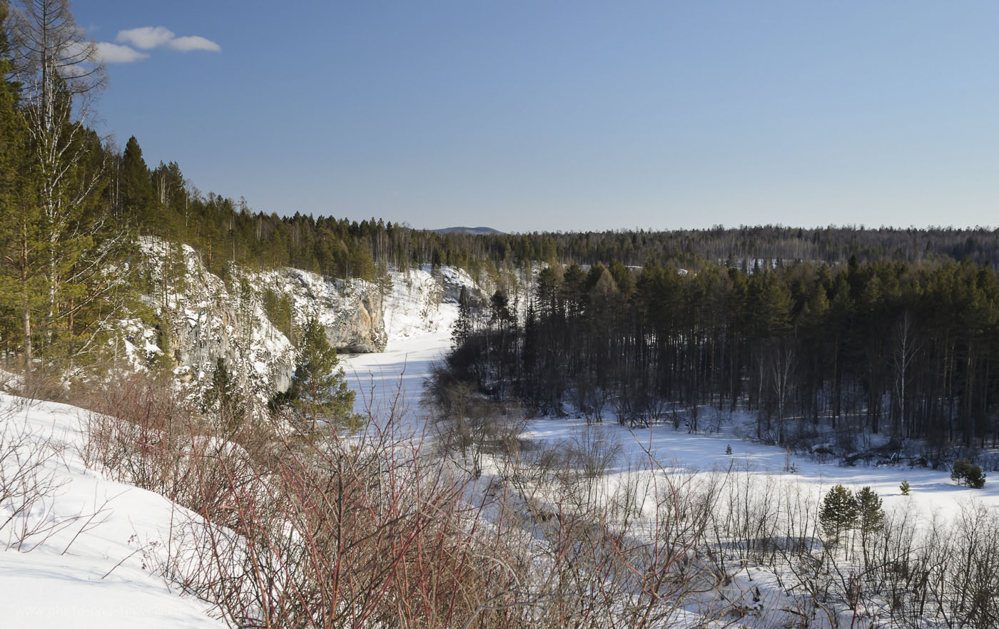 """Фотография №6. Как выглядит природный парк """"Оленьи ручьи"""" зимой. Здесь всегда красиво! Отзывы о походе выходного дня из Екатеринбурга. Легче всего сюда добраться на машине."""