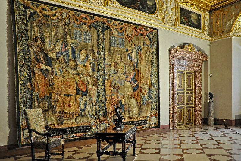 Гобелены. Münchner Residenz