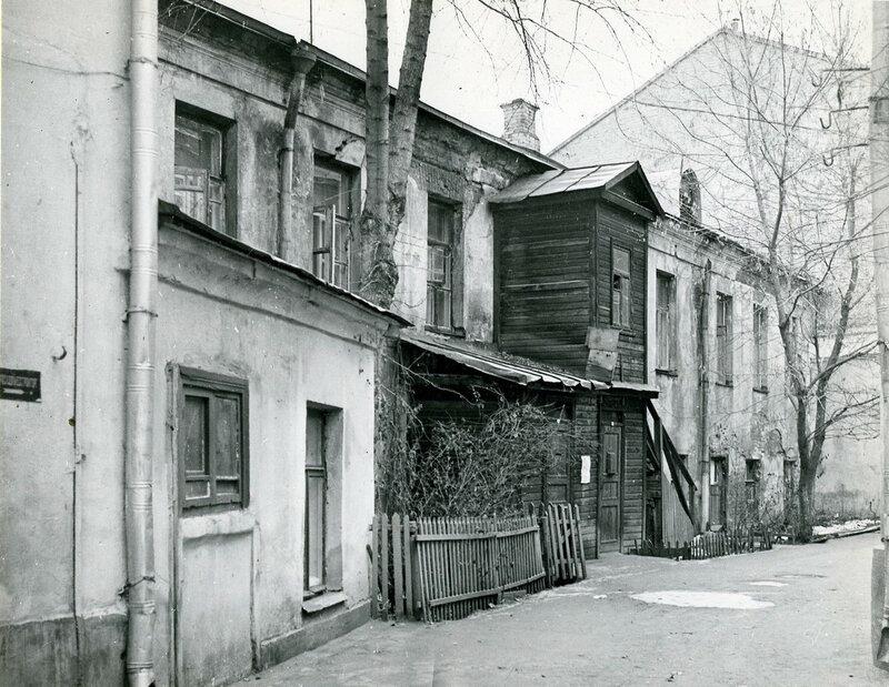 старые московские дворики фото украшение