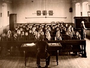 В церковно-приходской школе