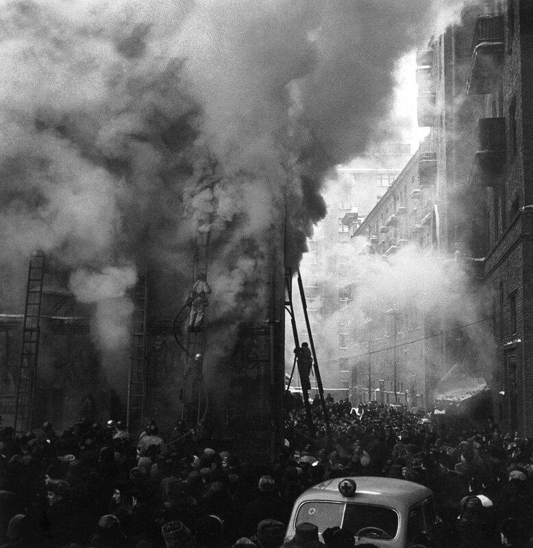 140. 1960. Пожар в Москве