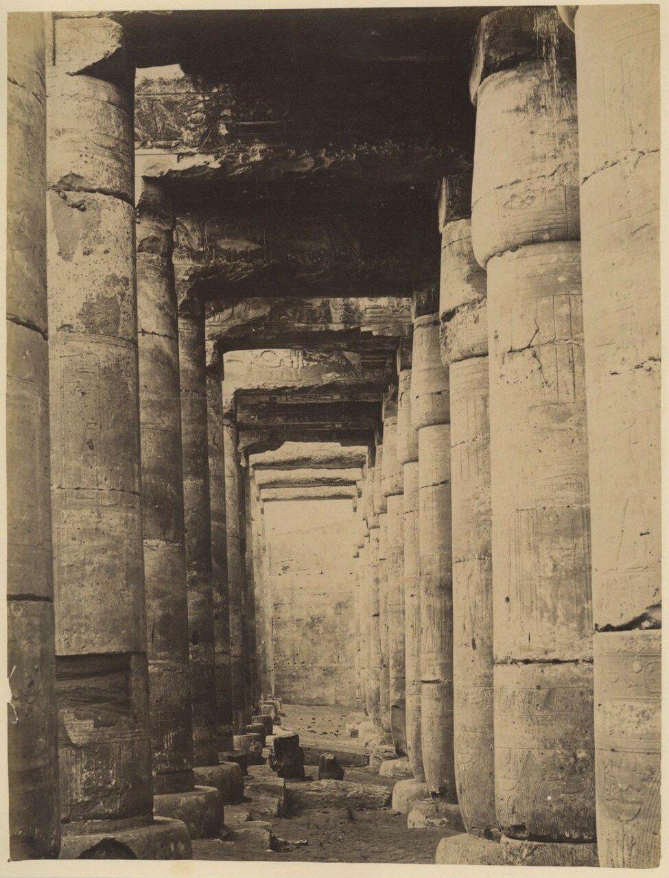 Абидос. Храм Сети I, колонны