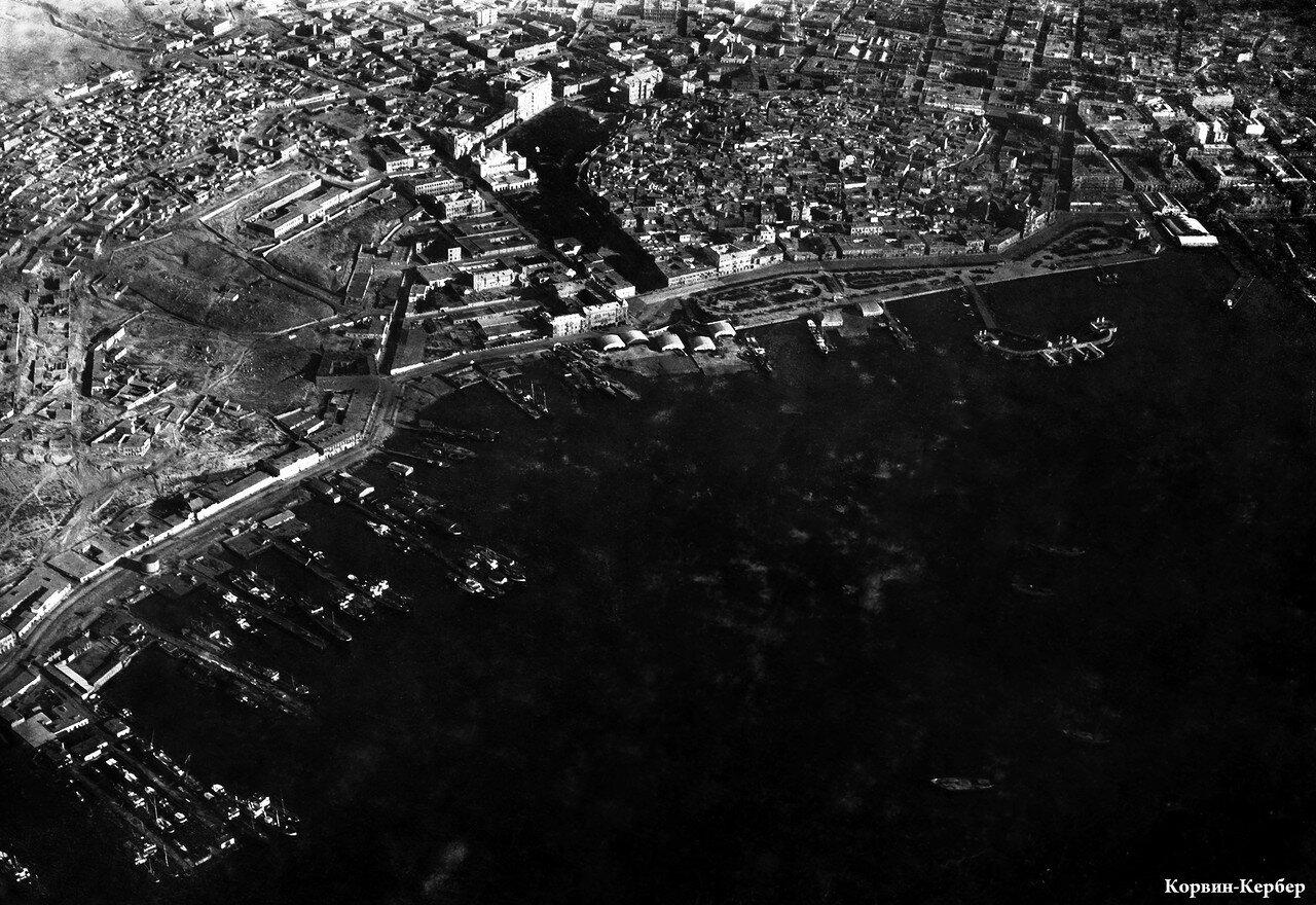 Аэрофотосъемка пристаней и ангаров БОШМА