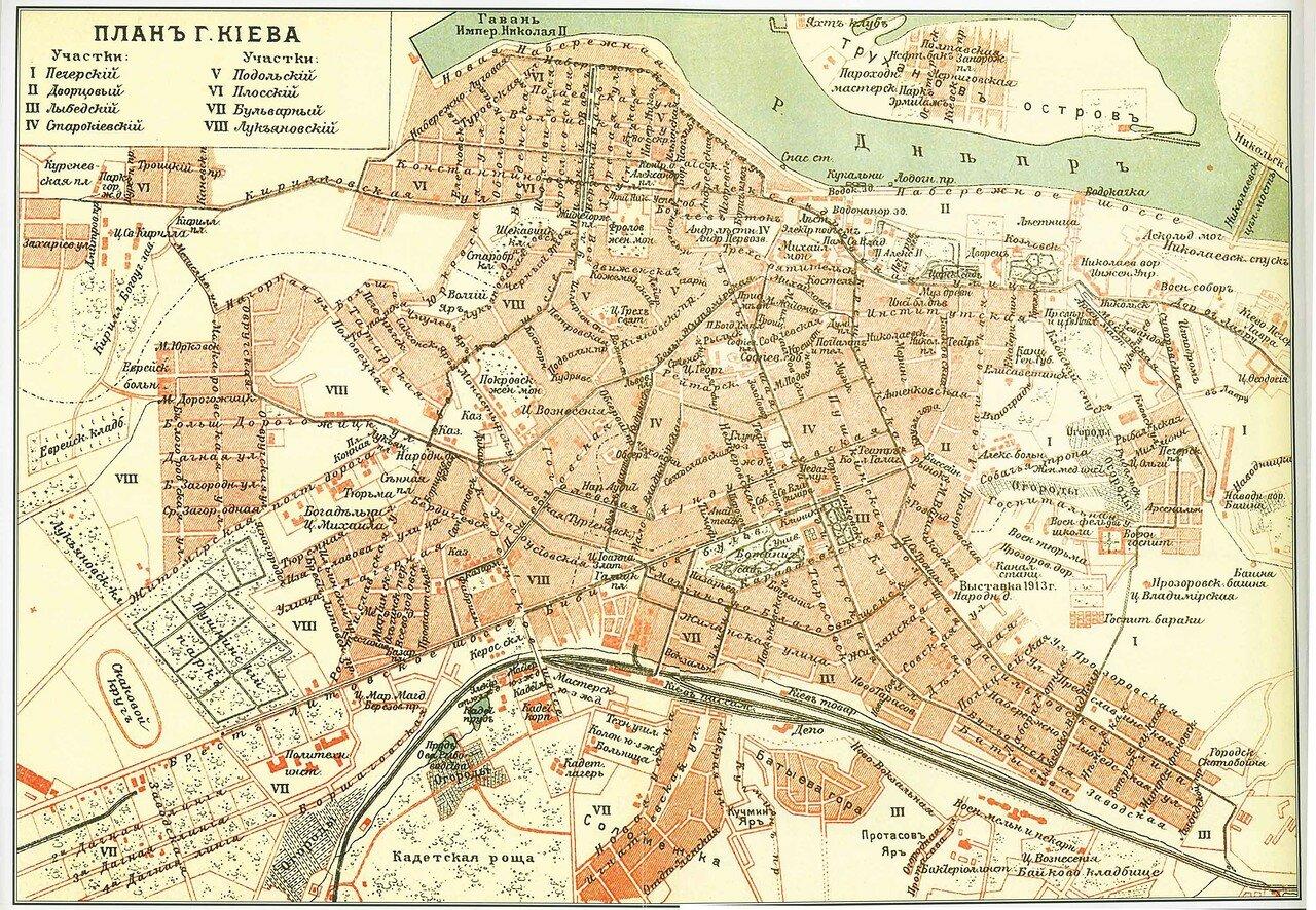 1901. План Киева