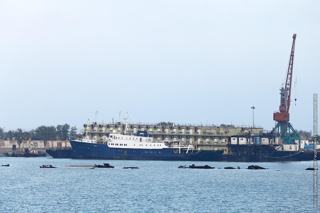 акватория порта Баутино