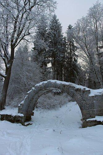 Руины в Павловском парке