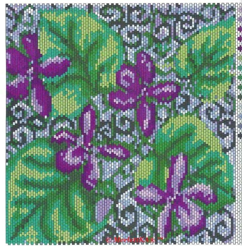Картинки для плетения полотна бисером