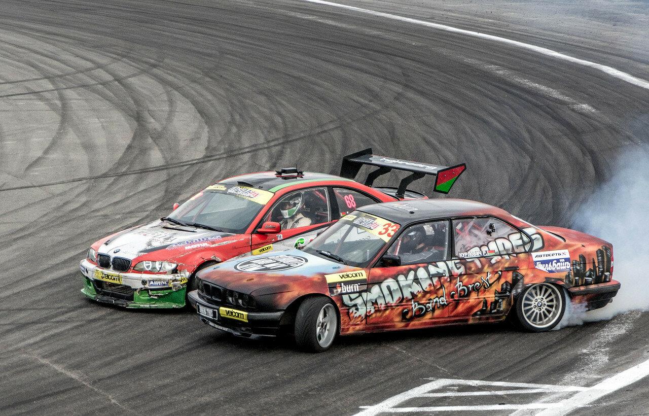Сергей Сак (BMW E46)) vs Руслан Курлович (BMW E34)