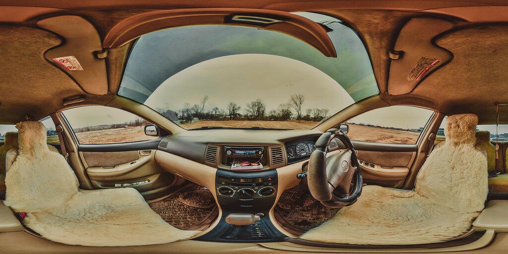 панорама Toyota Corolla