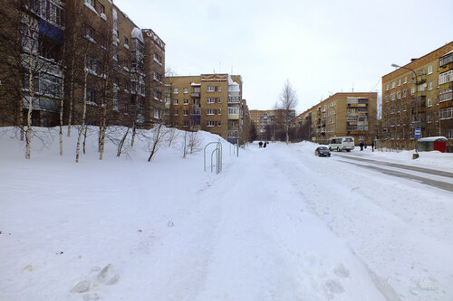 Фотография Инты №7470  Воркутинская 5, 13, Мира 38, Воркутинская 16 и 8 18.02.2015_14:29