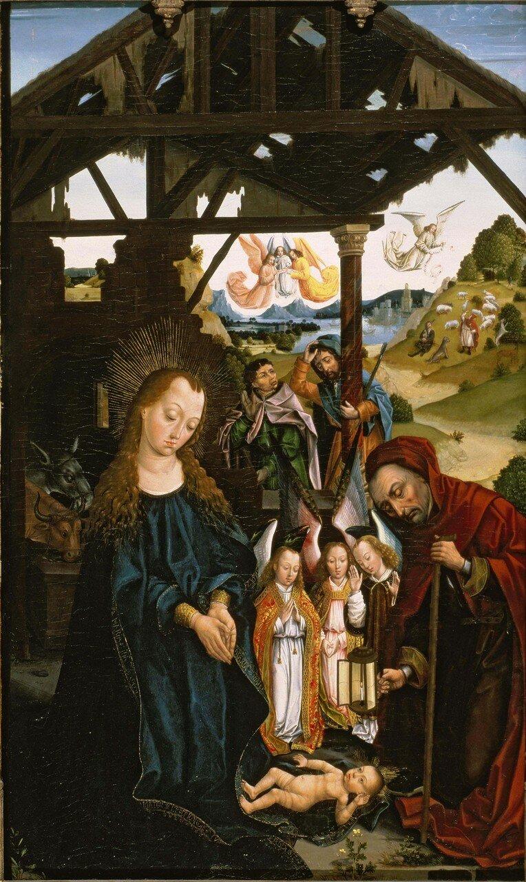 Рождество (1475-1500) (Сан-Франциско, Музей искусств).jpg