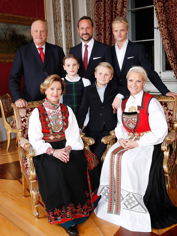 Норвежская Королевская семья