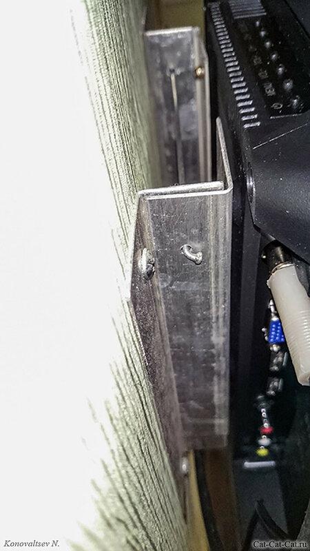 Самодельное крепление телевизора, монтаж на стену