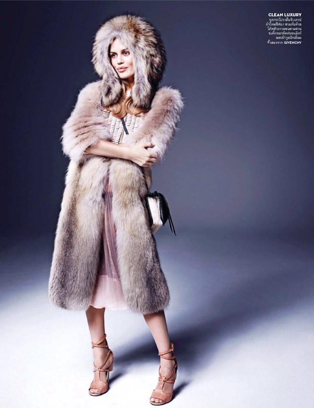 Джорджия Мэй Джаггер (Georgia May Jagger) в журнале Vogue Thailand