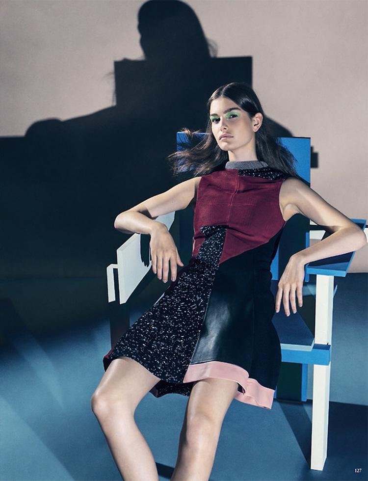 Ophelie Guillermand в Vogue German