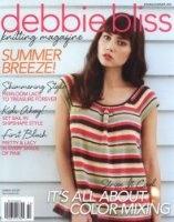 Журнал Debbie Bliss Knitting Magazine Spring-Summer 2012 jpg 73Мб