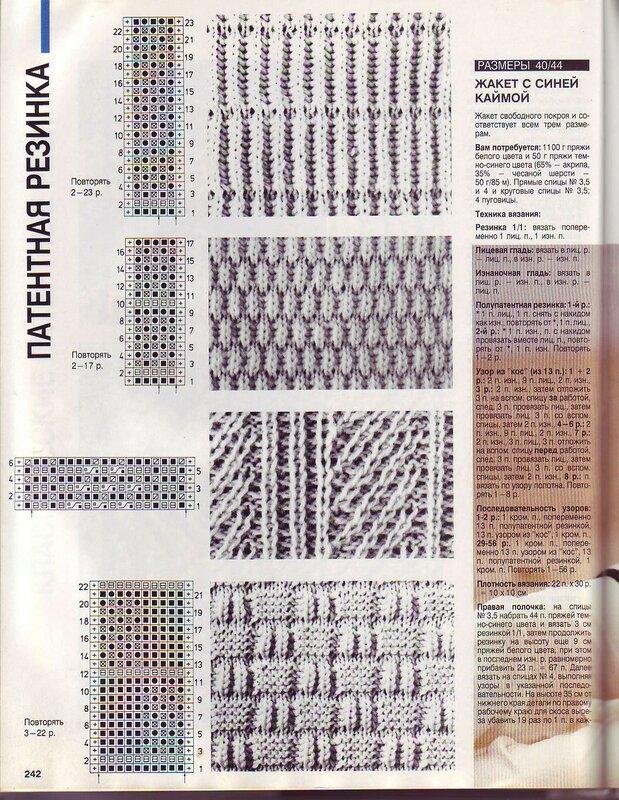 Журнал клубок схемы для вязания