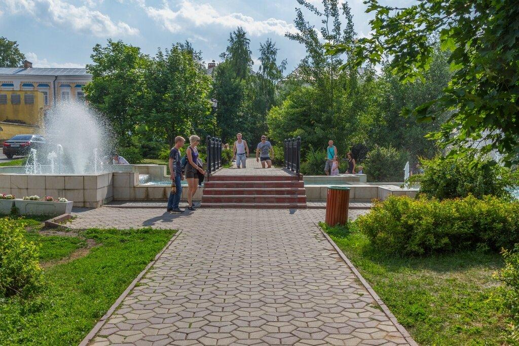Комсомольский сквер, Владимир