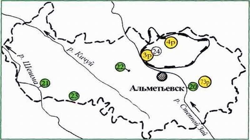Памятники природы Альметьевского района