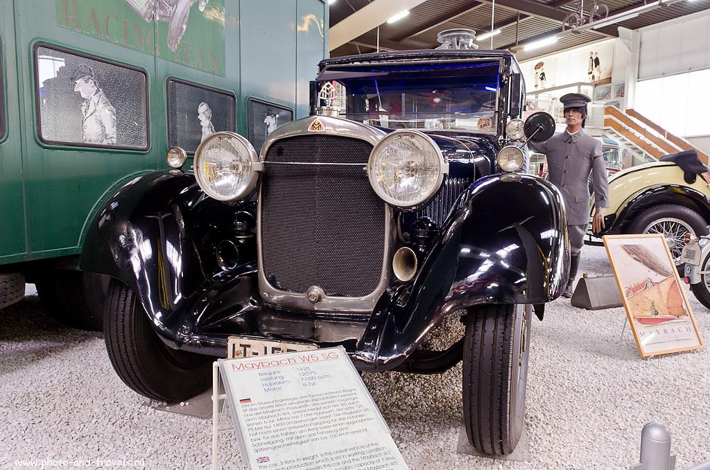 6. Автомобили Maybach во все времена были признаком статуса их владельца (Никкор 17-55mm, 1.6 сек, 0 eV, приоритет диафрагмы, f/8, 17 мм, 100)