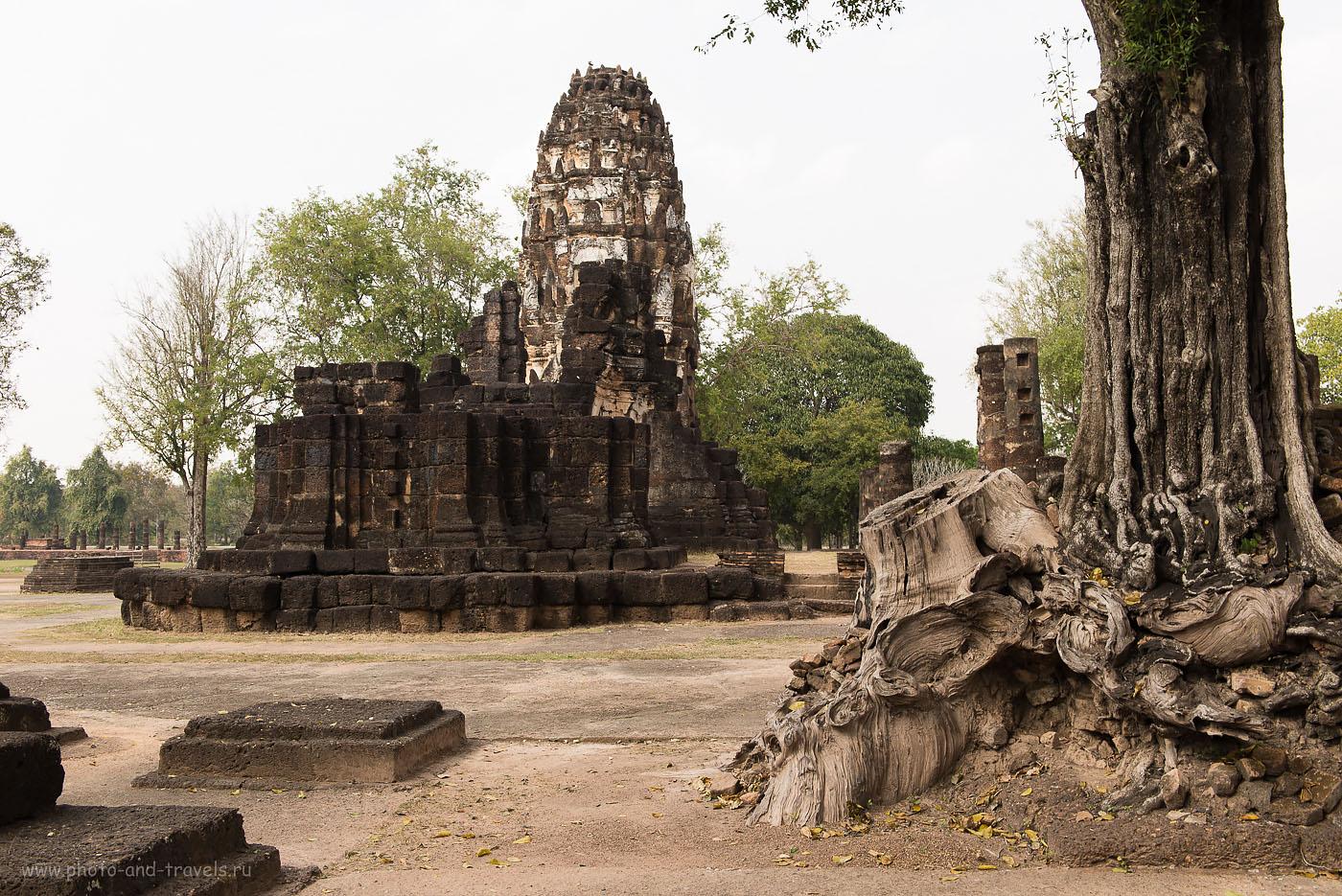 Фото 21. Наследие кхмеров - храм Wat Phra Phai Luang (Ват Пхра Пхай Луанг) в парке Сукхотаи. Туры в Таиланд самостоятельно.