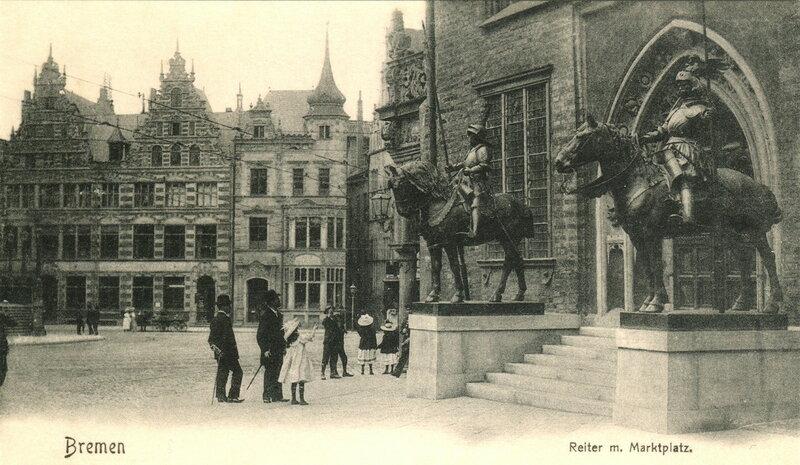 Reiter m. Marktplatz