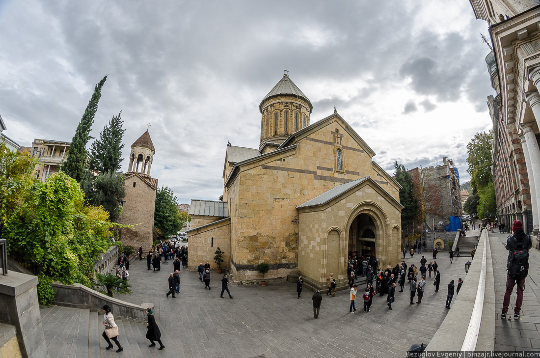 Walking through the old city in 2014.