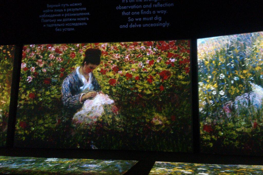 2015.04.04 - Москва. ArtPlay. Французские импрессионисты от Моне до Сезанна. Экспозиция. Фрагмент 5