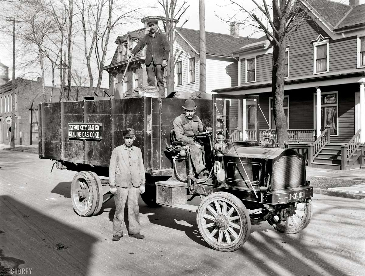 Специализированные транспортные средства начала 20-го века на снимках американских фотографов (7)