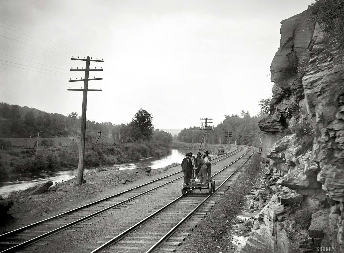 Железные дороги конца 19-го - начала 20-го века на снимках американских фотографов (35)