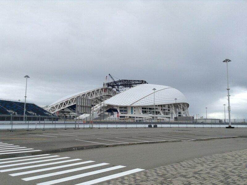 Сочи годпослеигр Олимпийский парк ХК Сочи