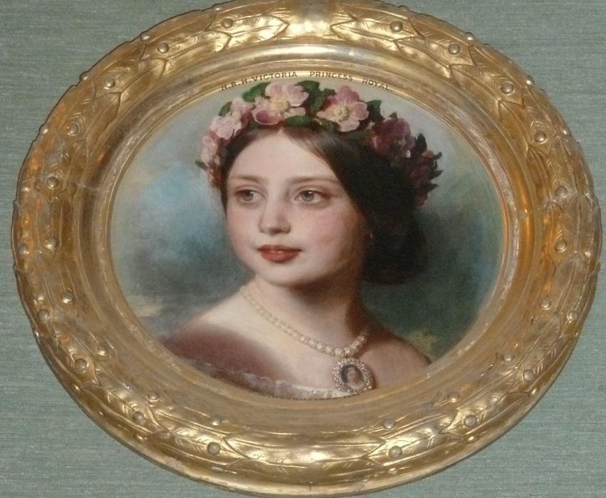 Виктория, королевская принцесса (1840-1901)  Подпись и дата тысяча восемьсот пятьдесят одна