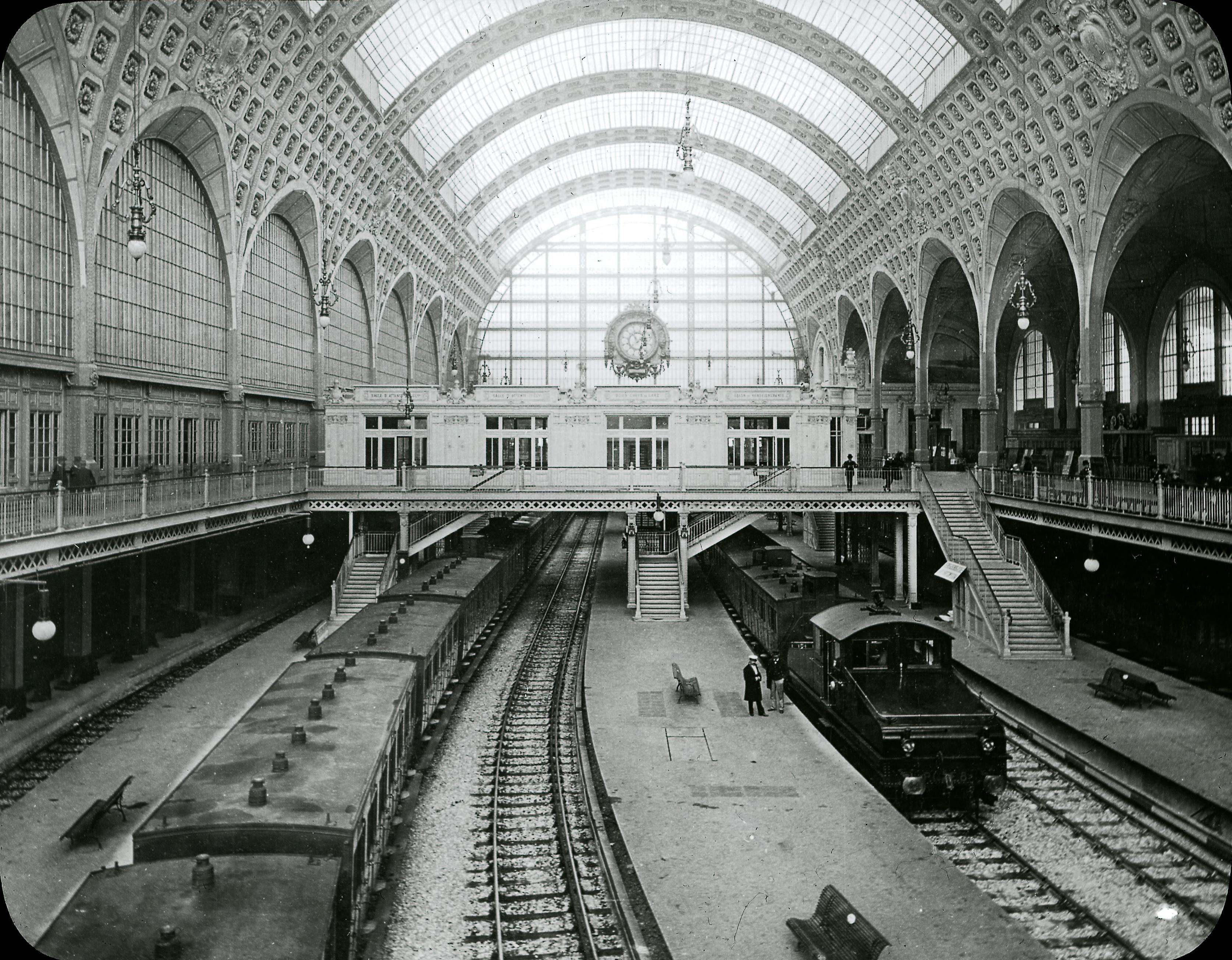 Набережная Орсе. Железнодорожный вокзал