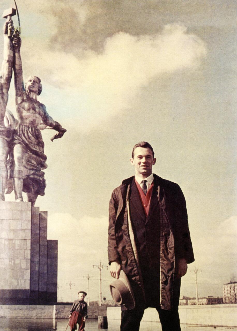 1960. Легкоатлет Валерий Брумель