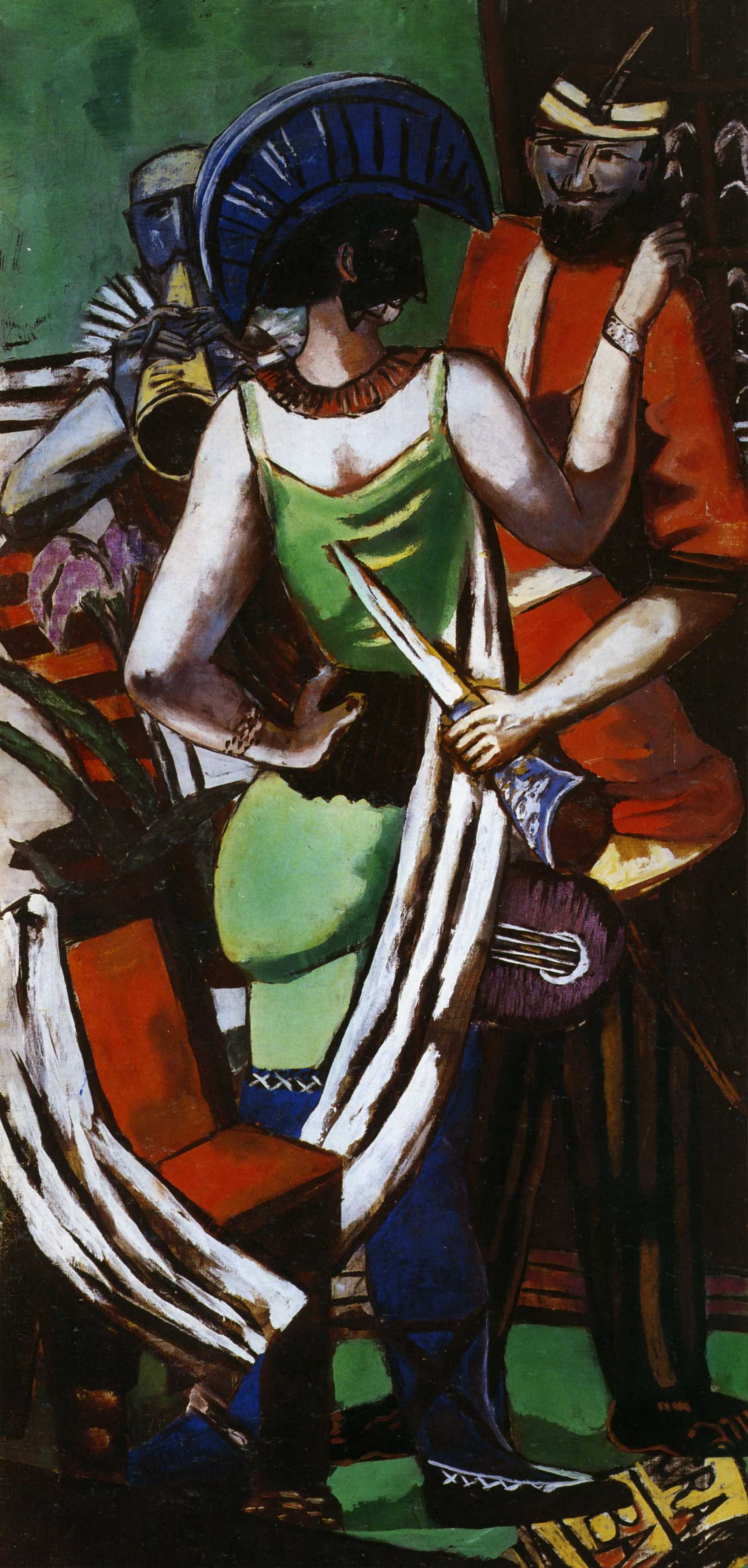 Макс Бекман. Марди Гра в Париже. 1930