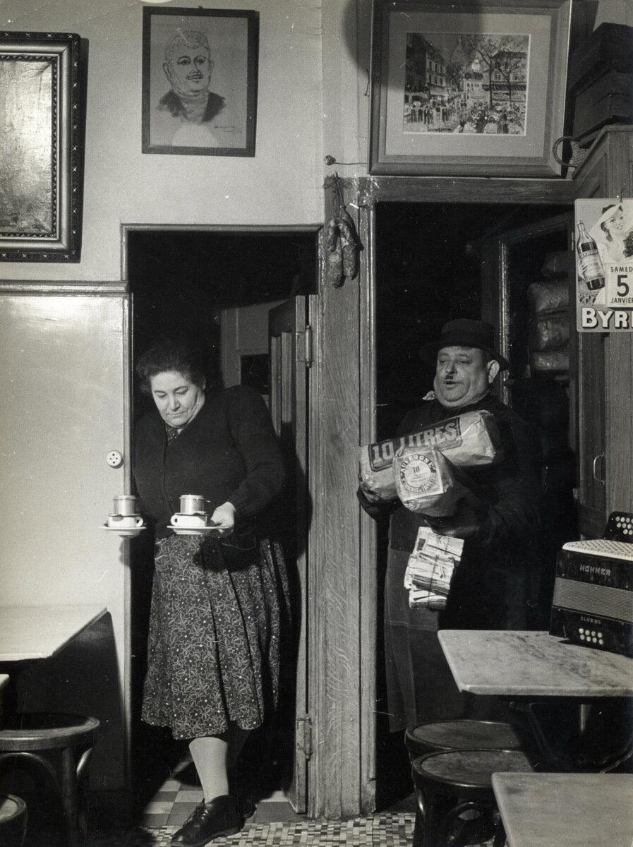 1950. Бистро