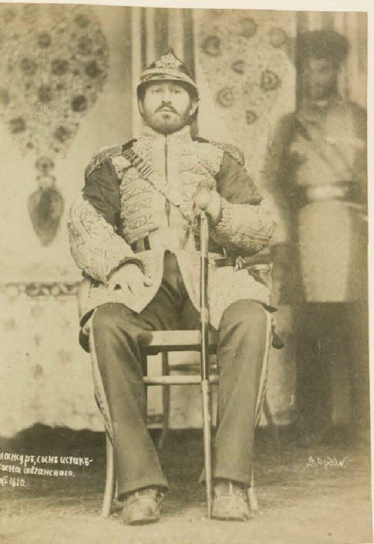 Самарканд. Мансур, сын Исхак-хана афганского