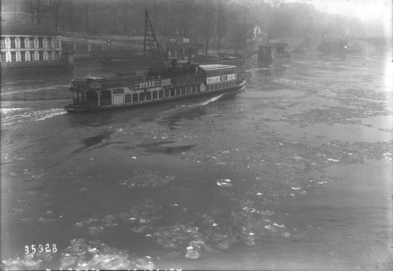 1914, 17 января. На Сене