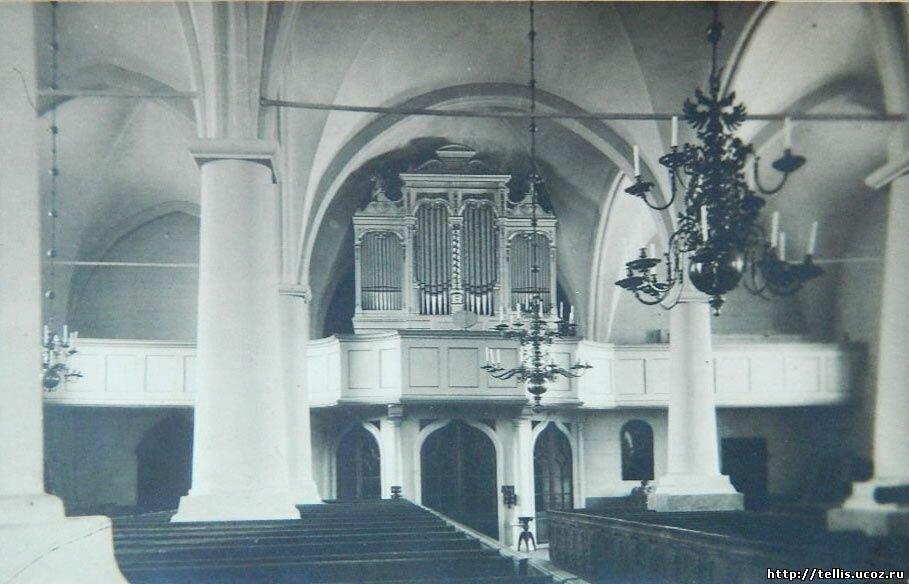 Интерьер Иоанновской церкви