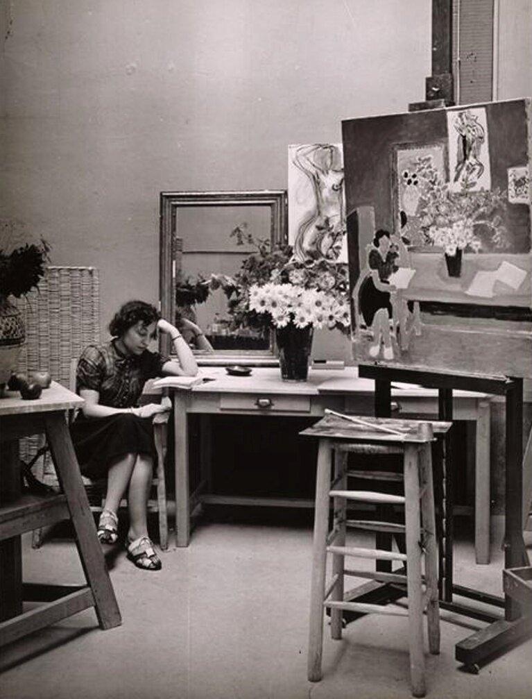 1939. В мастерской Анри Матисса